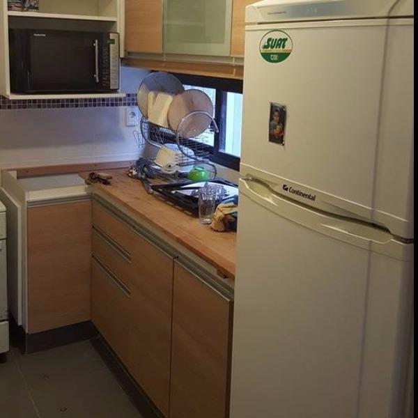 Equipamiento de cocina con muebles aereos carpintero en for Muebles de cocina montevideo