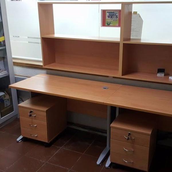 escritorios cajoneras en melaminico carpintero en