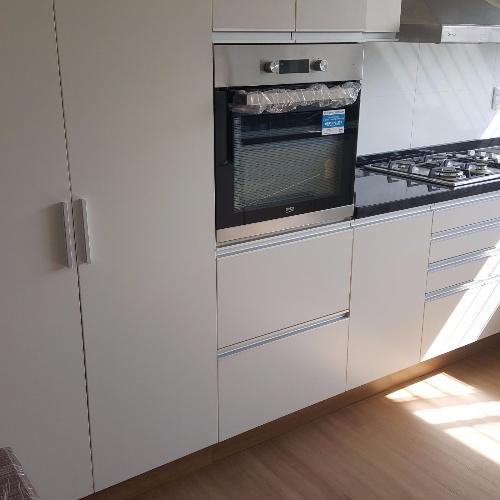 Equipamiento de cocina en melaminico m dulos carpintero for Muebles de cocina montevideo