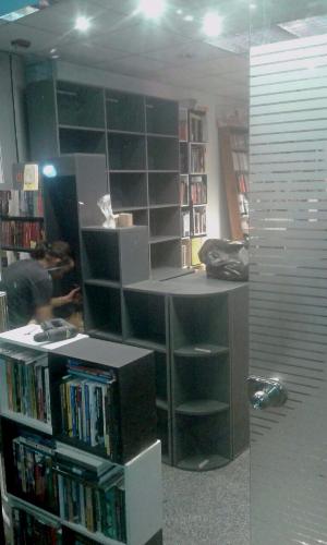 M dulos a medida para librer a carpintero en montevideo for Muebles a medida montevideo