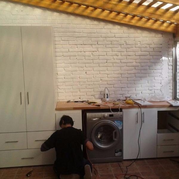 Mueble a medida carpintero en montevideo de jardin for Muebles de exterior montevideo
