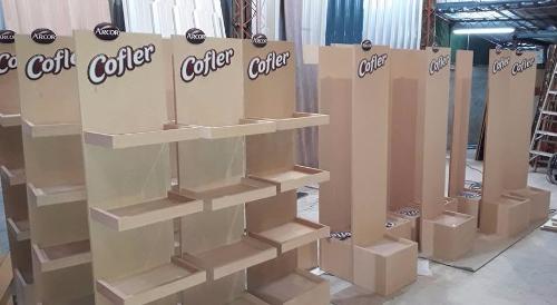 Muebles para local comercial en mdf crudo, Carpintero en Montevideo ...