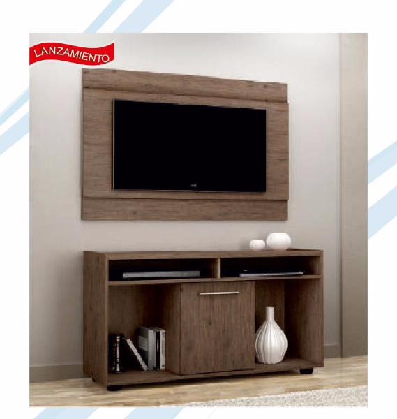 Combo show rack + panel MUEBLES.uy
