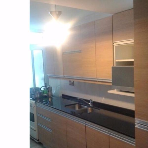 Muebles aereos y bajo mesada en melaminico carpintero en for Muebles aereos para cocina