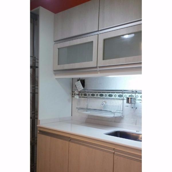 Equipamiento de cocina en melaminico carpintero en for Muebles de cocina montevideo
