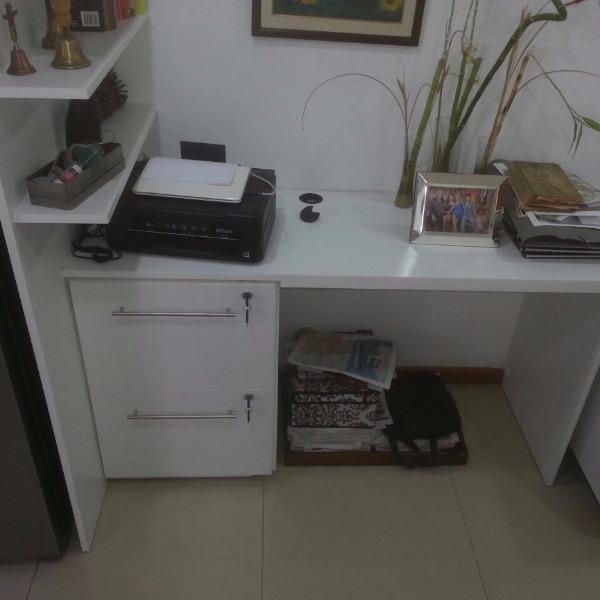 escritorio con cajonera repisa carpintero en