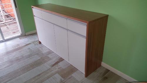Mueble aparador armario de cocina en eulaliptus for Mueble aereo cocina uruguay