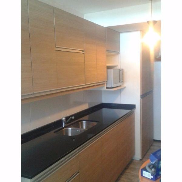 Muebles aereos y bajo mesada en melaminico carpintero en for Muebles de cocina montevideo
