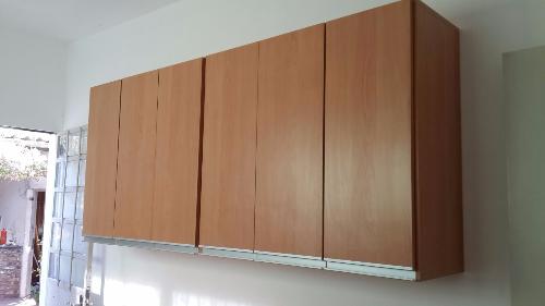 Mueble aereo y bajo mesada de cocina en melaminico for Mueble aereo cocina uruguay