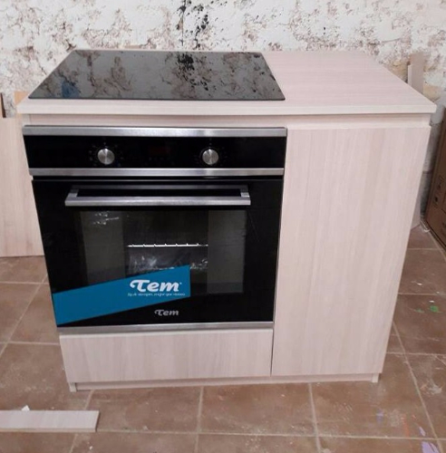 Mueble para horno/cocina con cajones y estantes,, Carpintero en ...