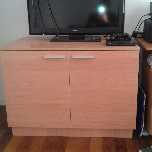 mueble para dormitorio melaminico haya natural On muebles para dormitorios montevideo